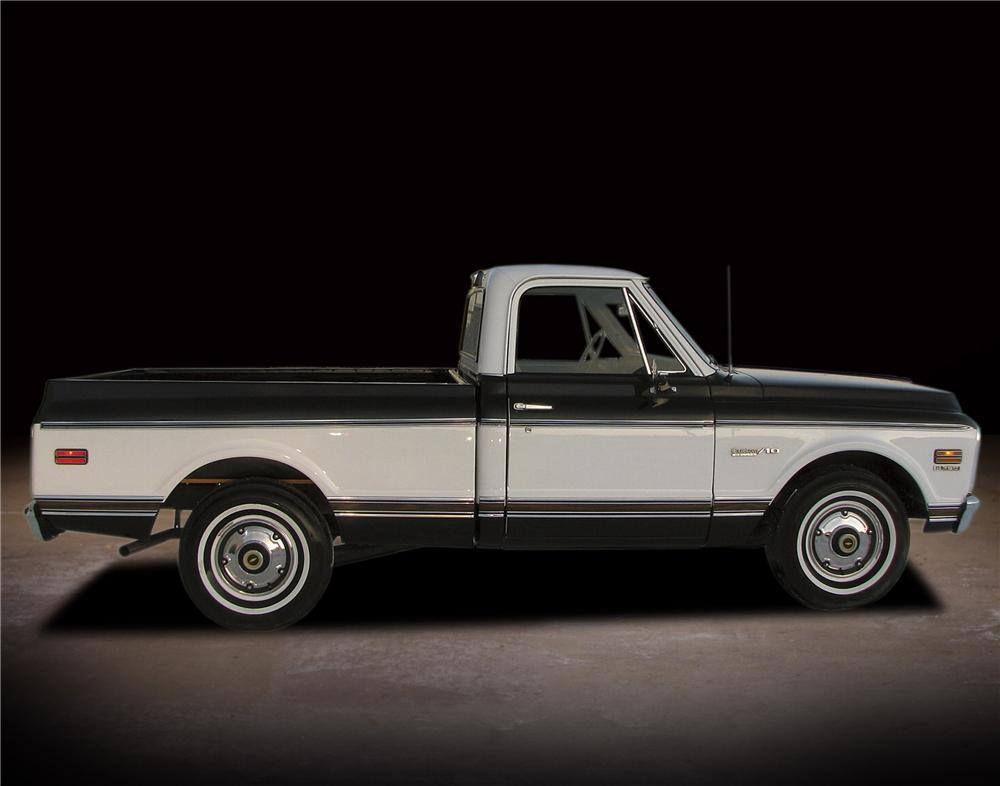 1971 CHEVROLET C-10 SHORT BED PICKUP - Engine - 81740