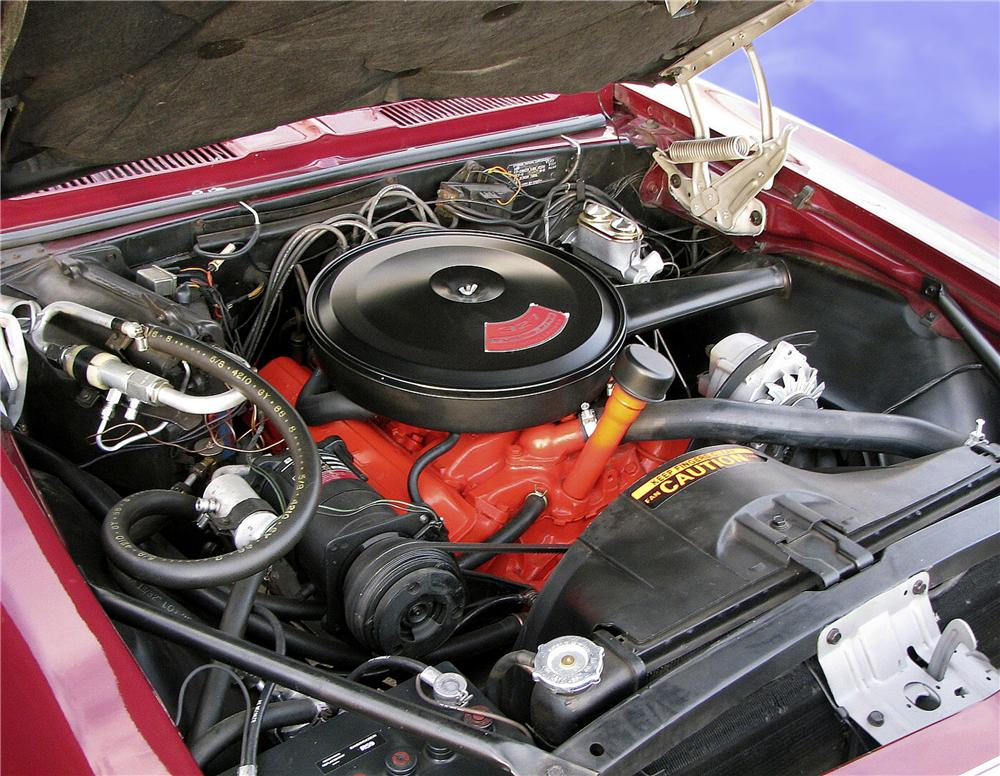 1967 CHEVROLET CAMARO RS COUPE - Engine - 81741