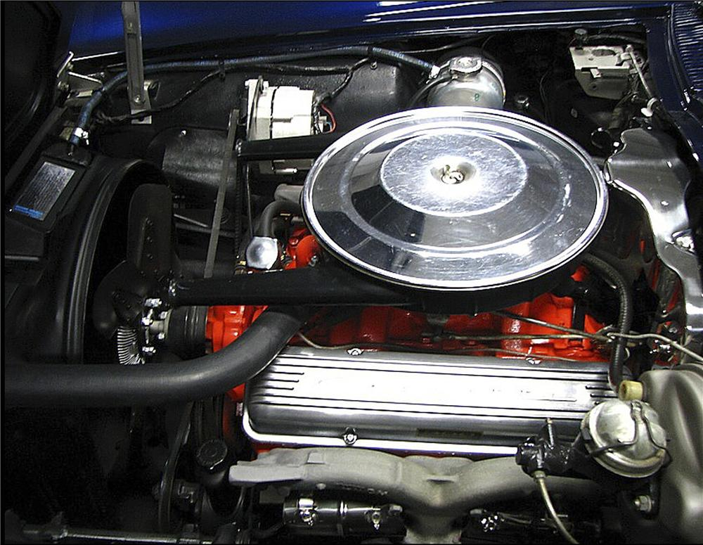 1964 CHEVROLET CORVETTE CONVERTIBLE - Engine - 81743