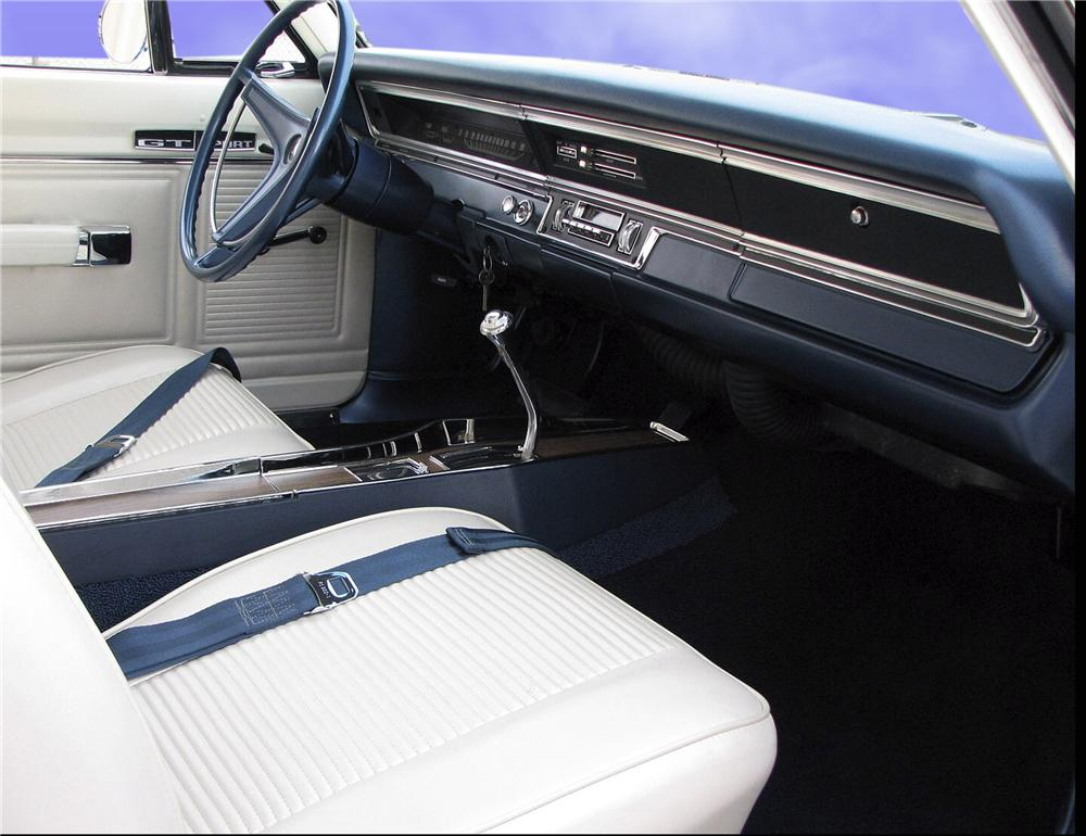 1969 DODGE DART GTS 2 DOOR HARDTOP - Interior - 81744