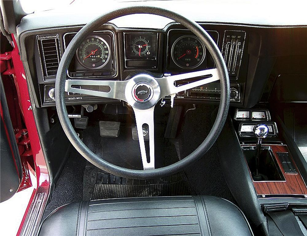 1969 CHEVROLET CAMARO 2 DOOR COUPE - Interior - 81746