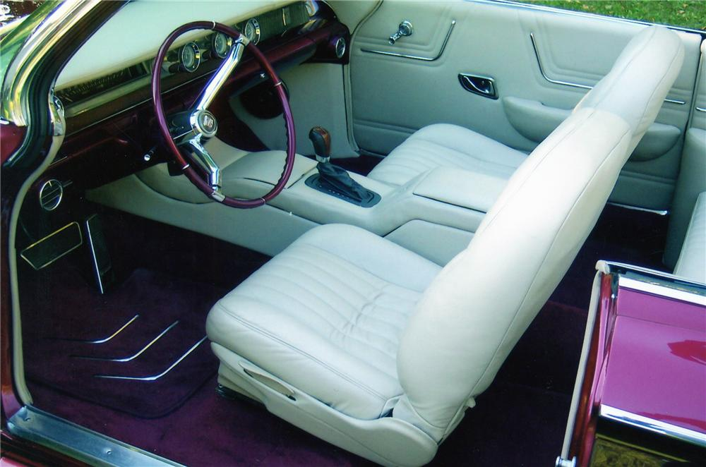 1962 CADILLAC CUSTOM CONVERTIBLE - Interior - 81751