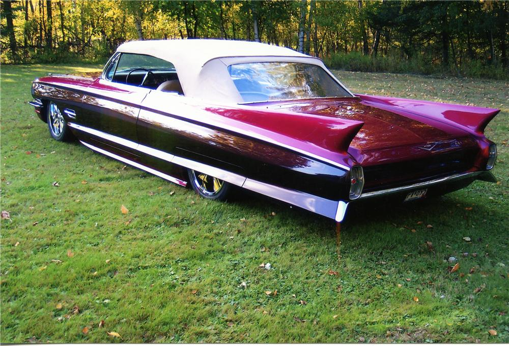 1962 CADILLAC CUSTOM CONVERTIBLE - Rear 3/4 - 81751