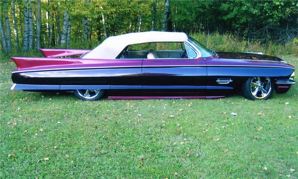 1962 CADILLAC CUSTOM CONVERTIBLE - Side Profile - 81751