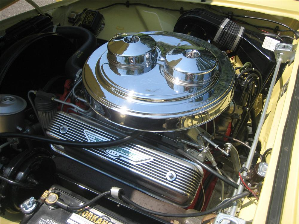 1957 FORD THUNDERBIRD E CONVERTIBLE - Engine - 81755