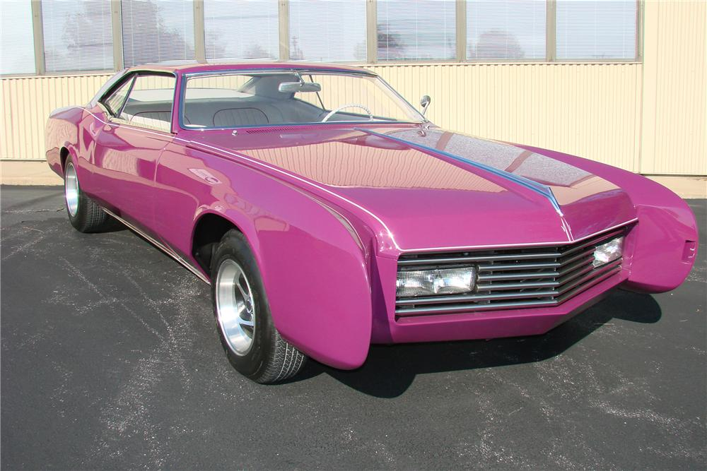 1967 BUICK RIVIERA CUSTOM 2 DOOR HARDTOP - Side Profile - 81762