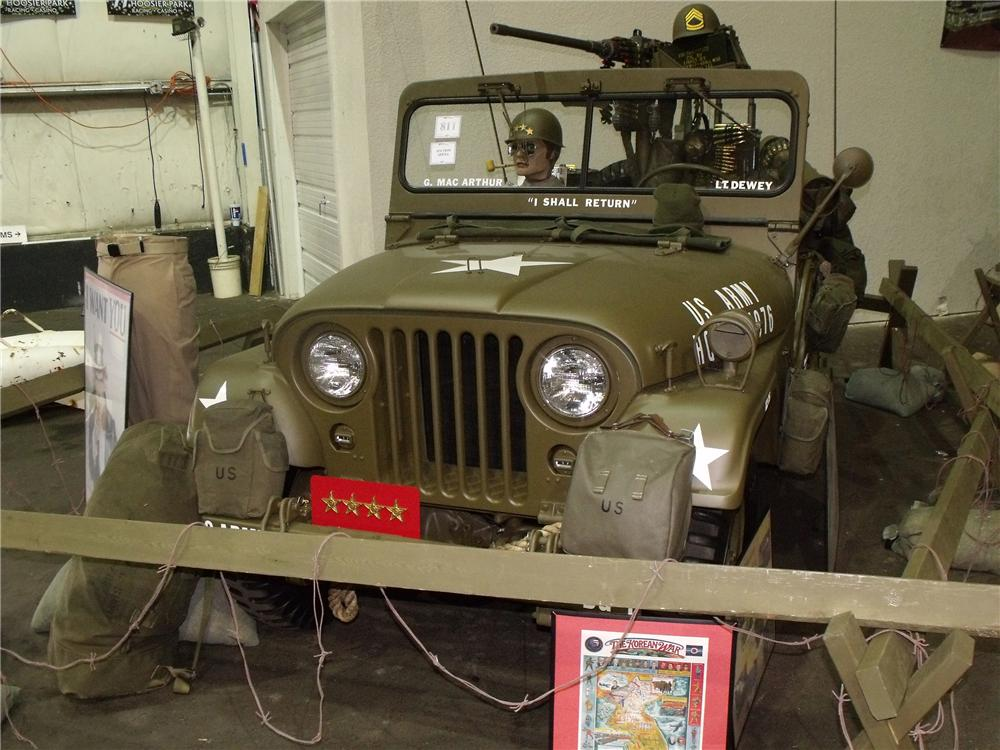 1952 WILLYS MILITARY JEEP M38A1 - Front 3/4 - 81763
