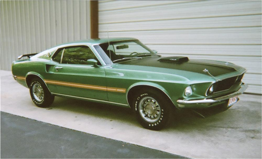 1969 FORD MUSTANG MACH 1 428 CJ FASTBACK - Front 3/4 - 81767