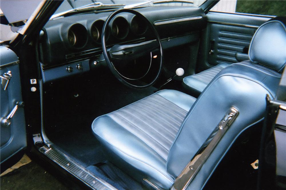 1969 FORD COBRA 2 DOOR SPORTSROOF - Interior - 81768