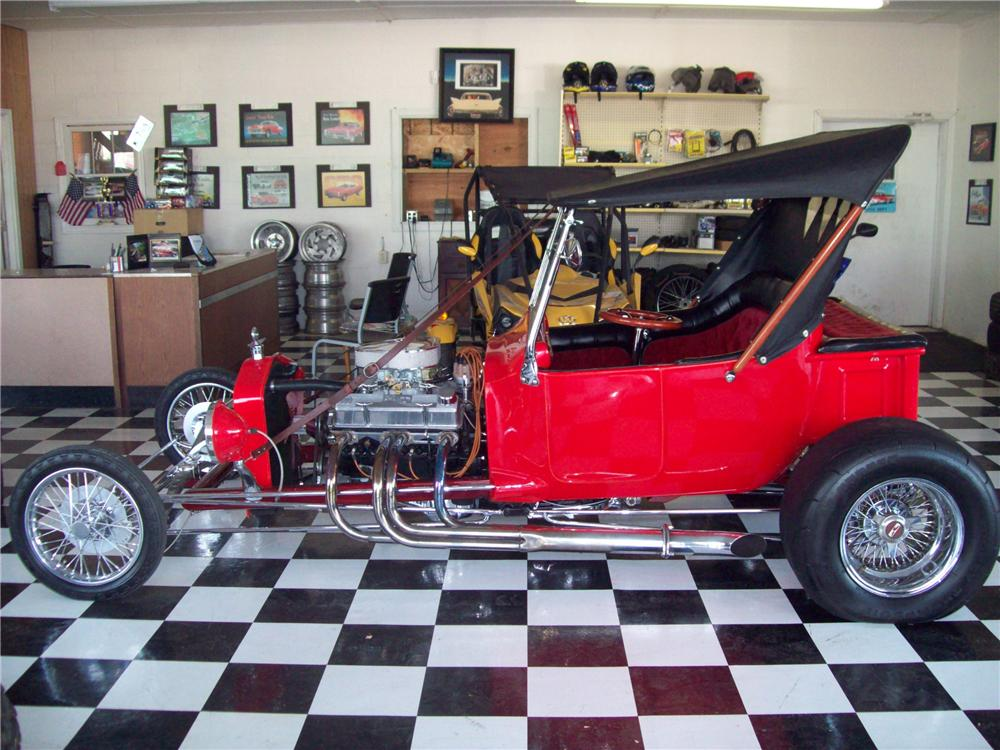 1925 FORD T-BUCKET CUSTOM ROADSTER - Side Profile - 81770