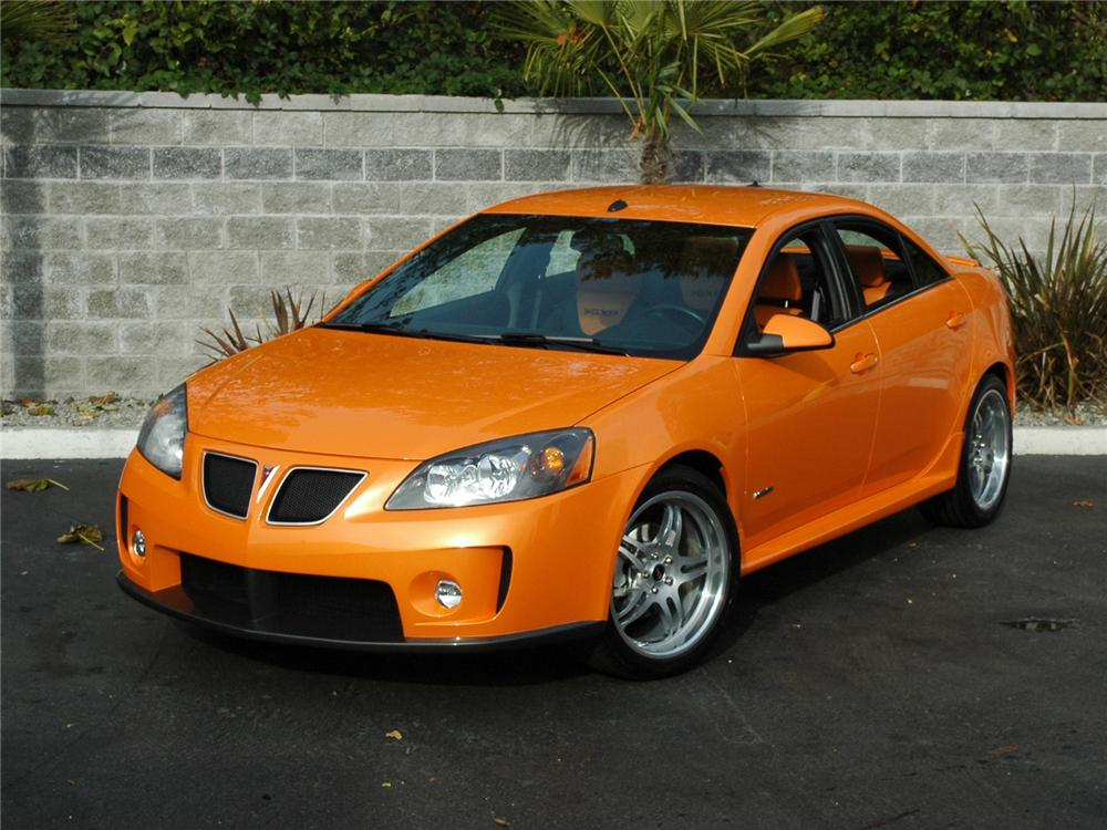 2005 PONTIAC G6 GXP CUSTOM SEDAN - Front 3/4 - 81771