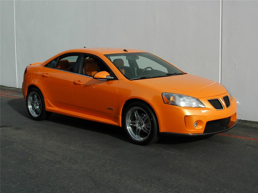 2005 PONTIAC G6 GXP CUSTOM SEDAN - Side Profile - 81771