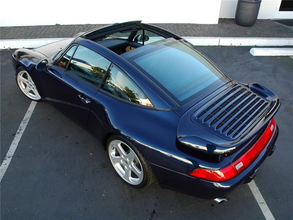 1998 PORSCHE 911 TARGA RUF TURBO - Rear 3/4 - 81775