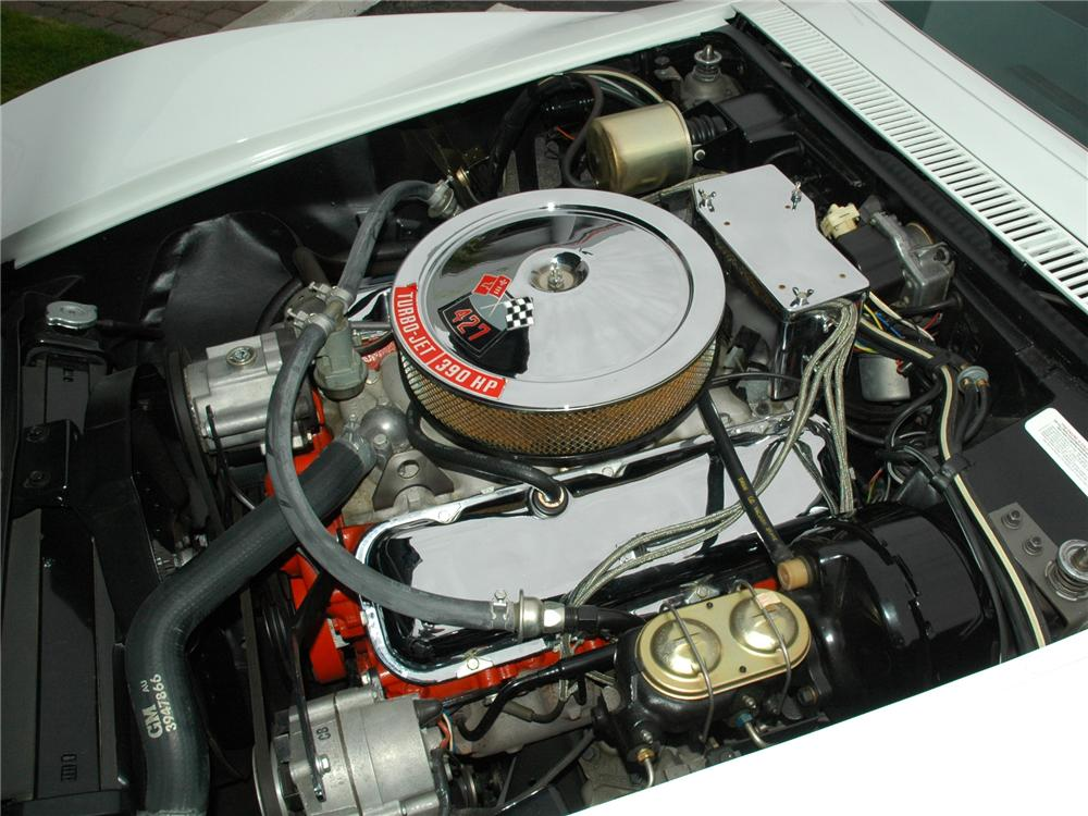 1968 CHEVROLET CORVETTE CONVERTIBLE - Engine - 81776