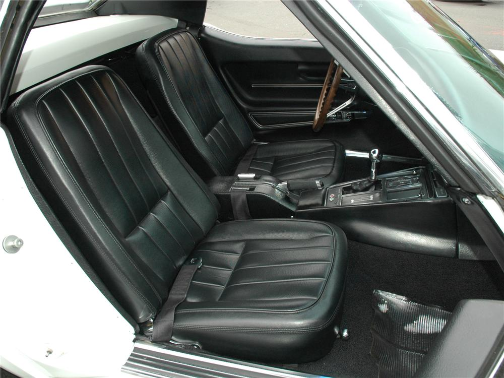 1968 CHEVROLET CORVETTE CONVERTIBLE - Interior - 81776