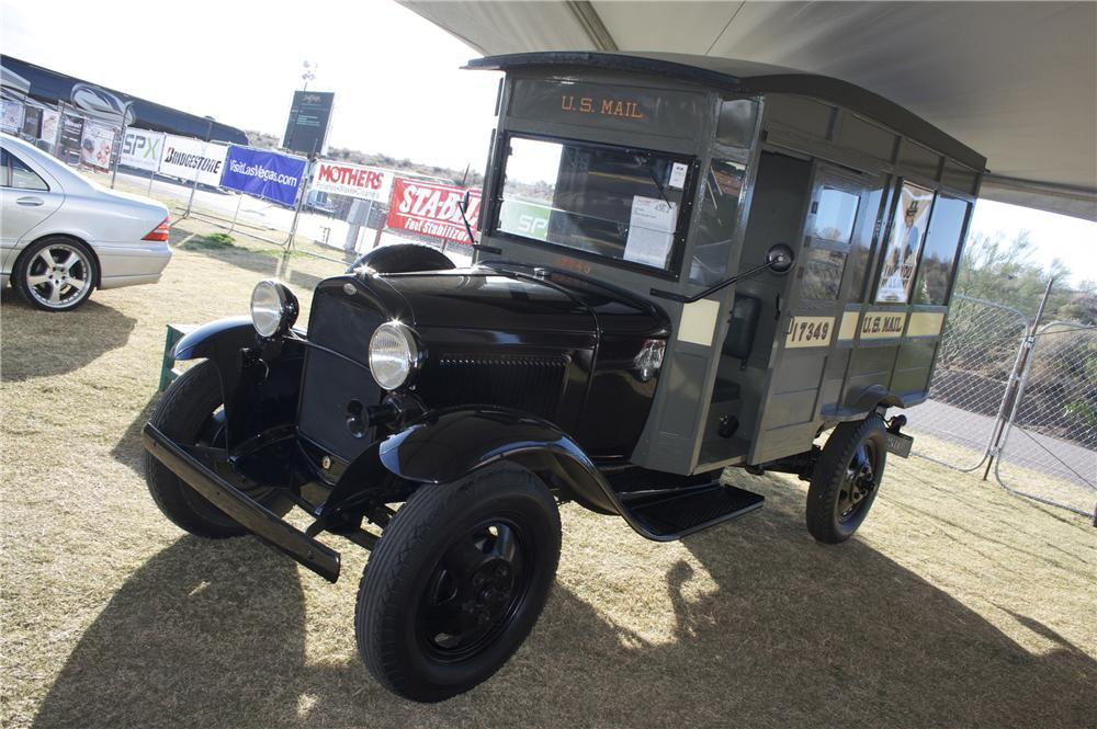 1931 FORD AA POSTAL DELIVERY TRUCK - Front 3/4 - 81777