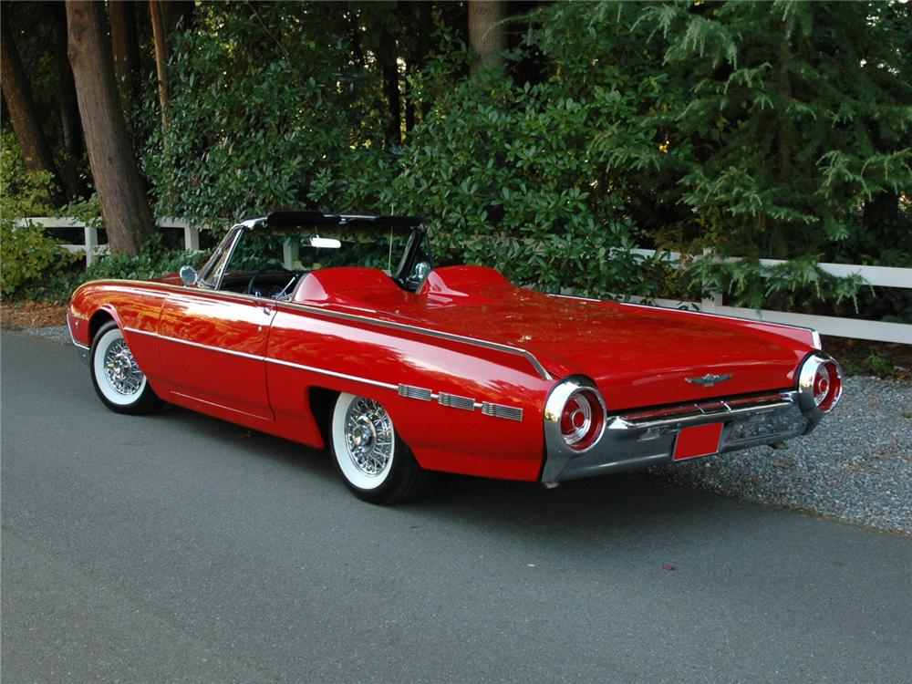 1962 ford thunderbird convertible 81778. Cars Review. Best American Auto & Cars Review
