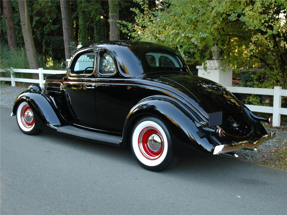 1936 ford 5 window custom coupe 81780