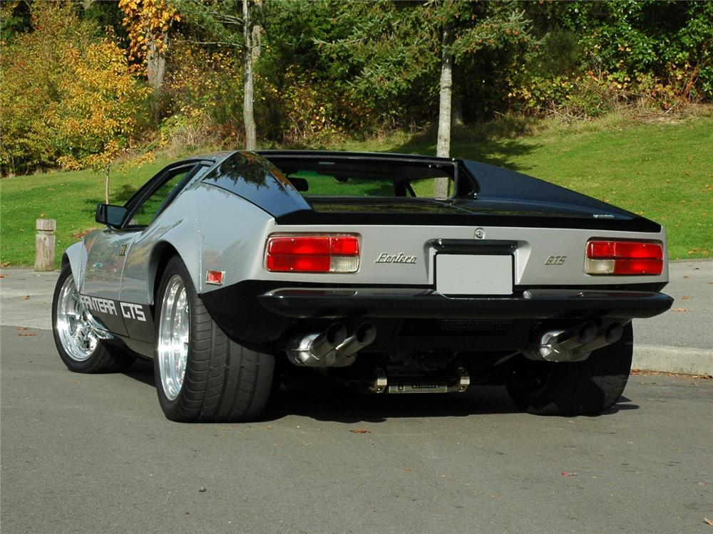 1974 PANTERA GTS COUPE - Rear 3/4 - 81785