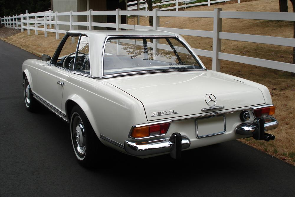 1964 mercedes benz 230sl convertible 81788 for Mercedes benz 230sl
