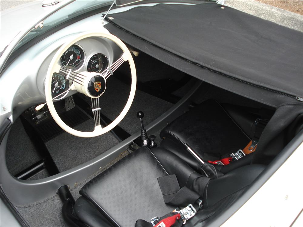 1955 PORSCHE 550 SPYDER RE-CREATION - Interior - 81789