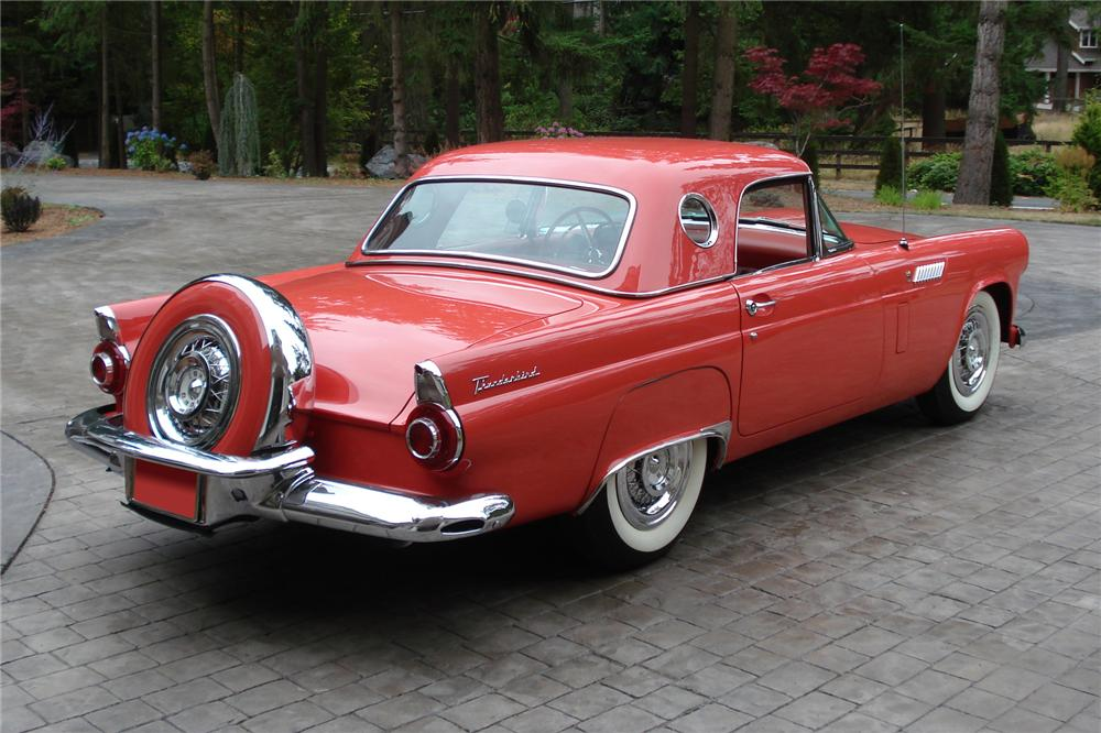 1956 FORD THUNDERBIRD CONVERTIBLE - 81793