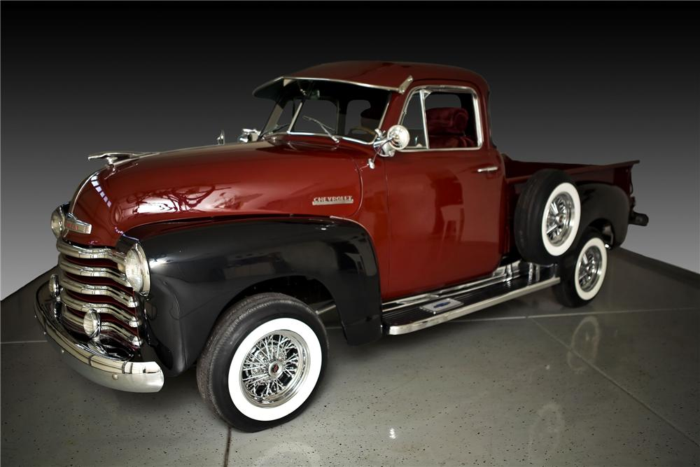 1951 CHEVROLET 3100 CUSTOM PICKUP - Front 3/4 - 81794