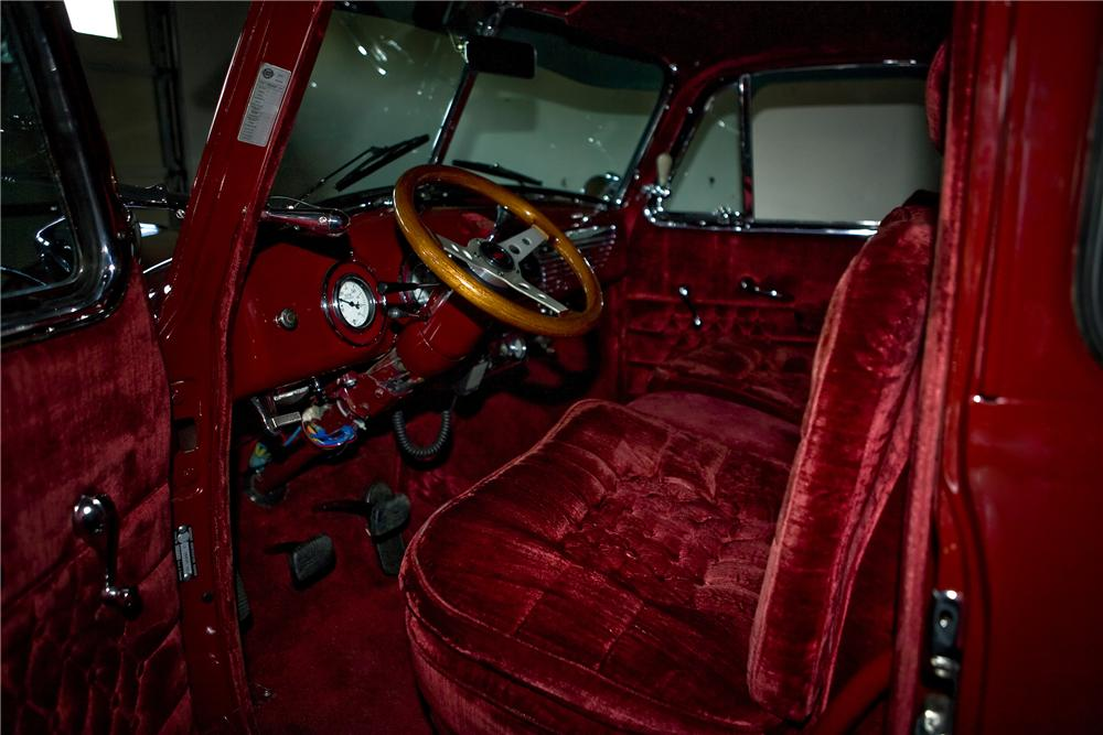 1951 CHEVROLET 3100 CUSTOM PICKUP - Interior - 81794