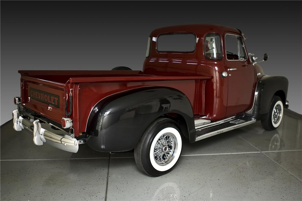 1951 CHEVROLET 3100 CUSTOM PICKUP - Rear 3/4 - 81794