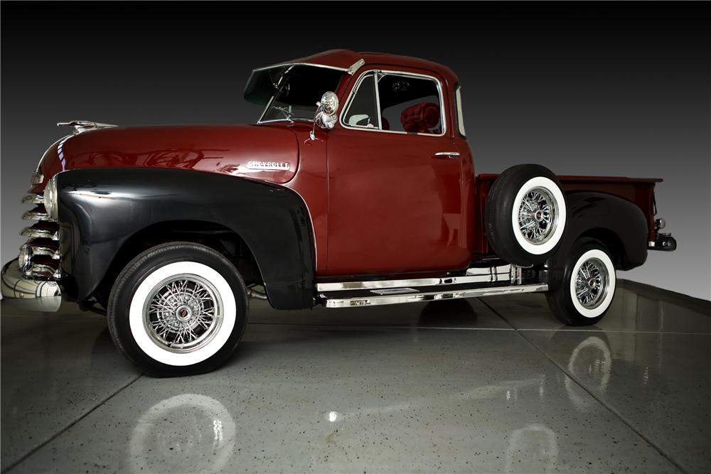 1951 CHEVROLET 3100 CUSTOM PICKUP - Side Profile - 81794
