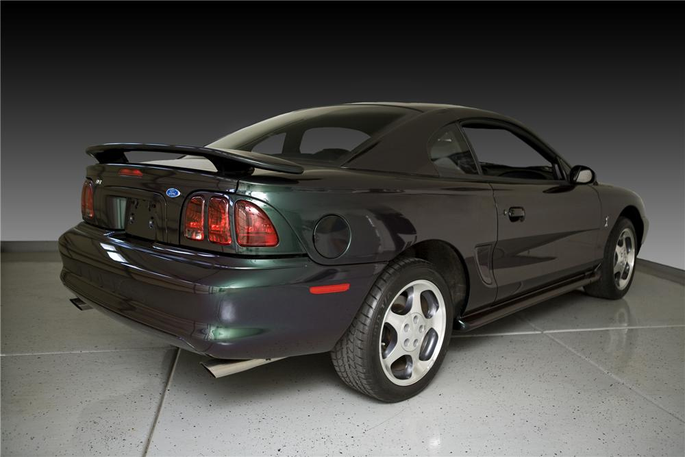 1996 FORD MUSTANG COBRA SVT 2 DOOR COUPE - Front 3/4 - 81797