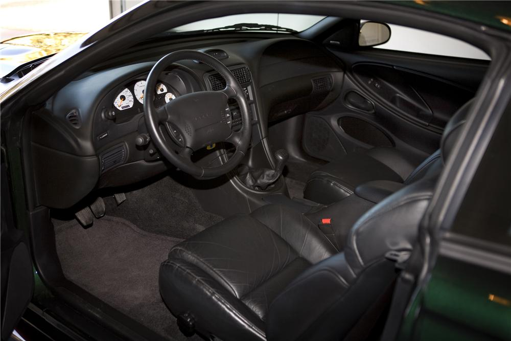 1996 FORD MUSTANG COBRA SVT 2 DOOR COUPE - Interior - 81797