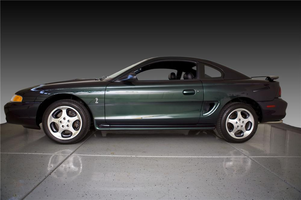 1996 FORD MUSTANG COBRA SVT 2 DOOR COUPE - Side Profile - 81797
