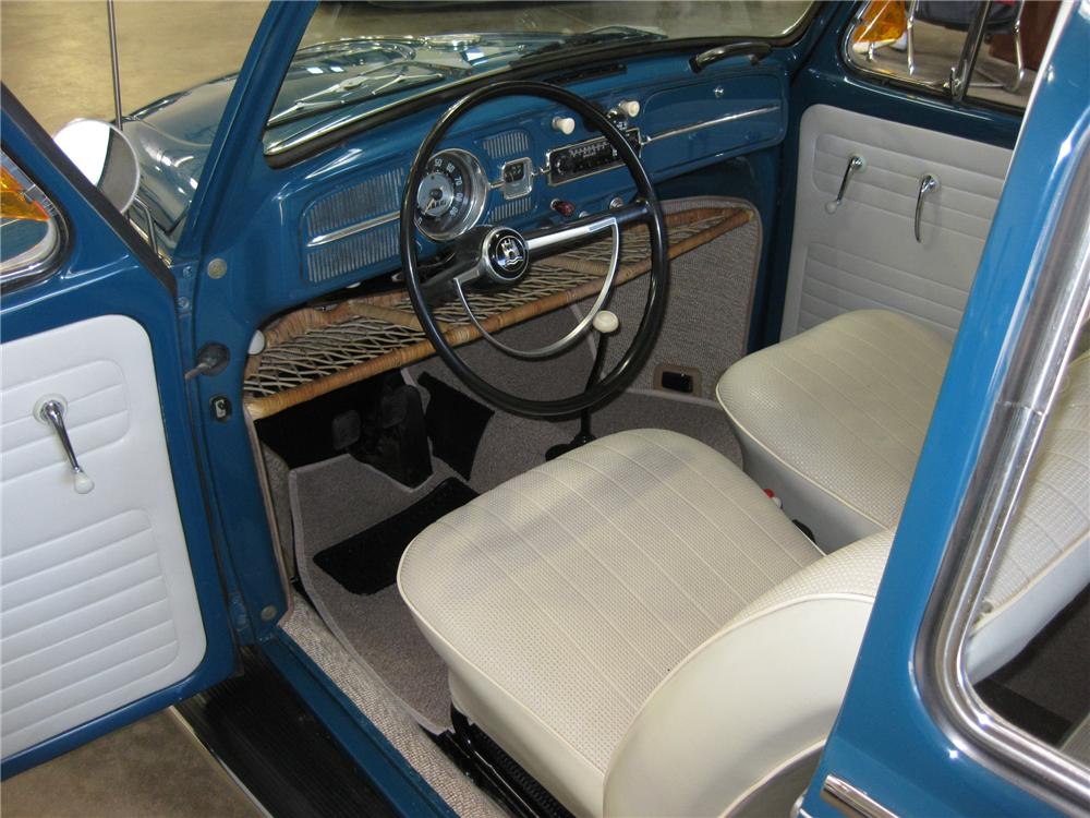 1966 VOLKSWAGEN BEETLE 2 DOOR SEDAN - Interior - 81801