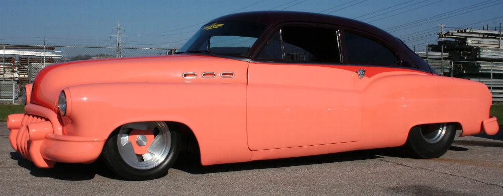 1950 BUICK CUSTOM SEDANETTE - Side Profile - 81811
