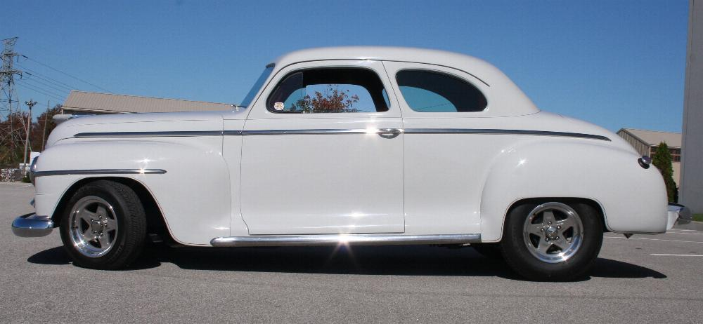 1946 PLYMOUTH DELUXE CUSTOM COUPE - Side Profile - 81815