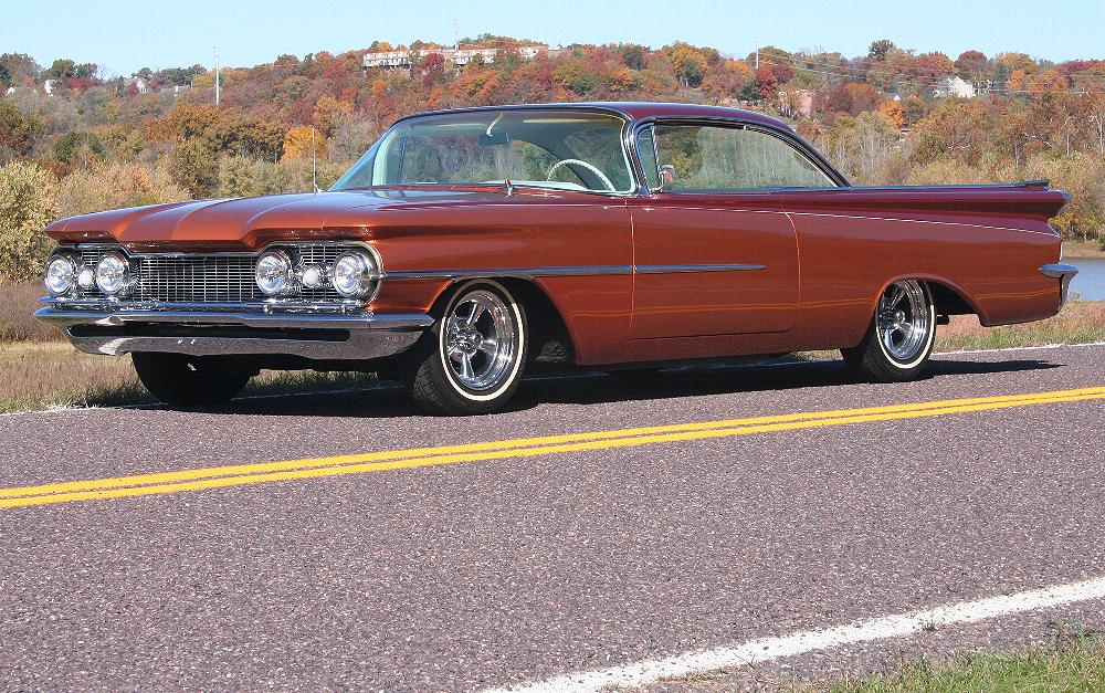 1959 OLDSMOBILE 88 CUSTOM 2 DOOR HARDTOP - Front 3/4 - 81816