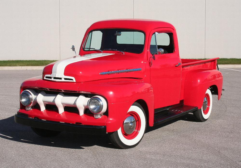 1951 FORD F-1 PICKUP - Front 3/4 - 81817