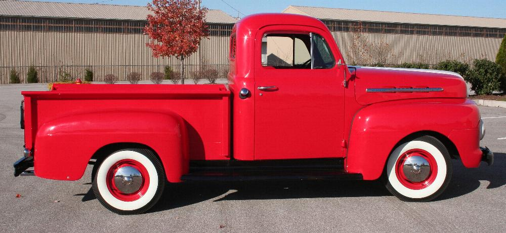 1951 FORD F-1 PICKUP - Side Profile - 81817