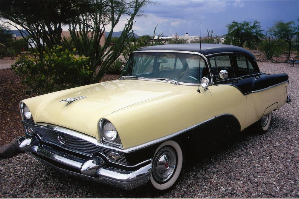1955 PACKARD CLIPPER 4 DOOR SEDAN - Front 3/4 - 81824