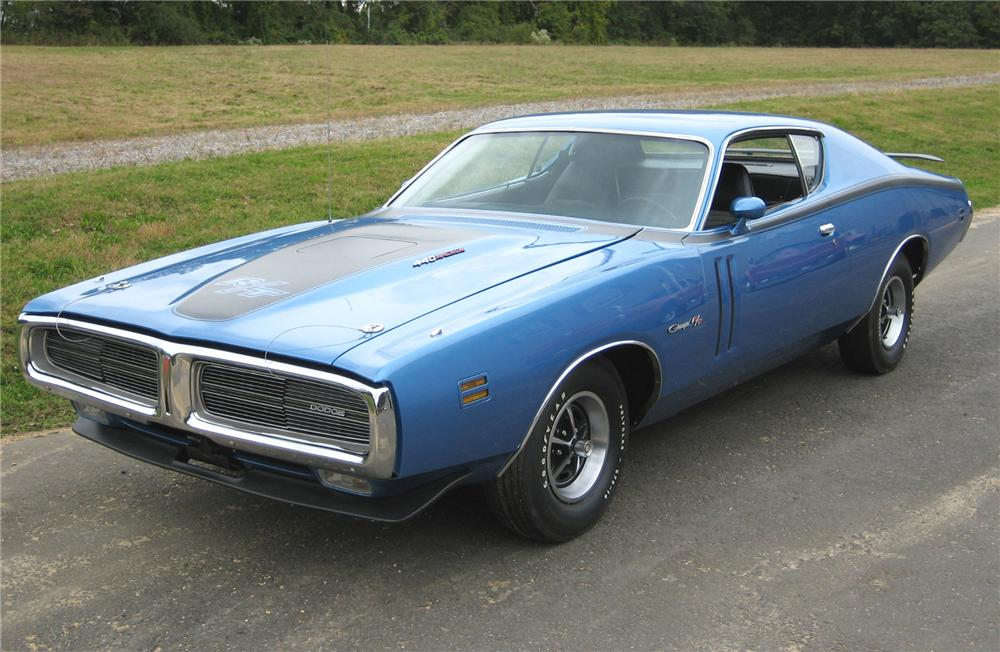 1971 DODGE CHARGER R/T 2 DOOR HARDTOP - Front 3/4 - 81828