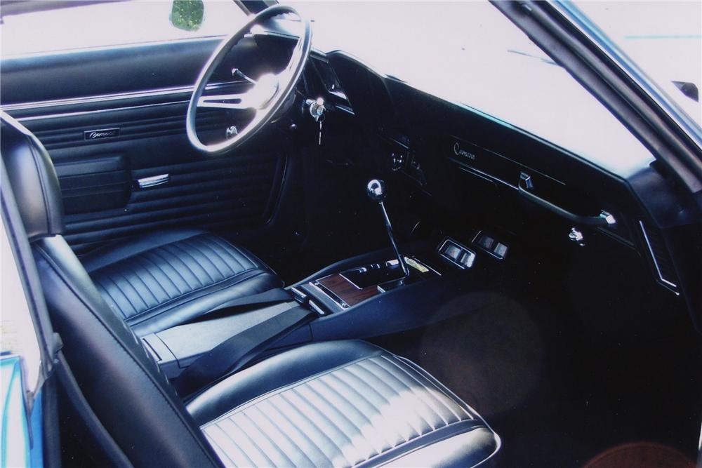 1969 CHEVROLET CAMARO Z/28 2 DOOR SPROT COUPE - Interior - 81842