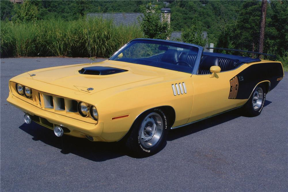 1971 Plymouth Cuda Convertible 81843