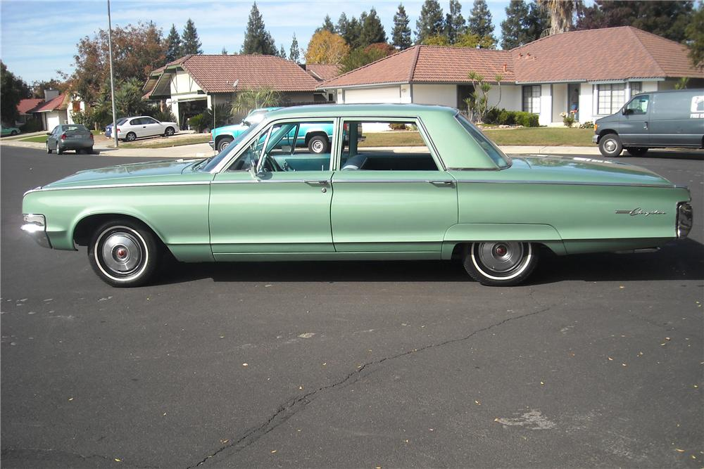 New 300 Chrysler 2016 >> 1965 CHRYSLER NEWPORT 4 DOOR SEDAN - 81847