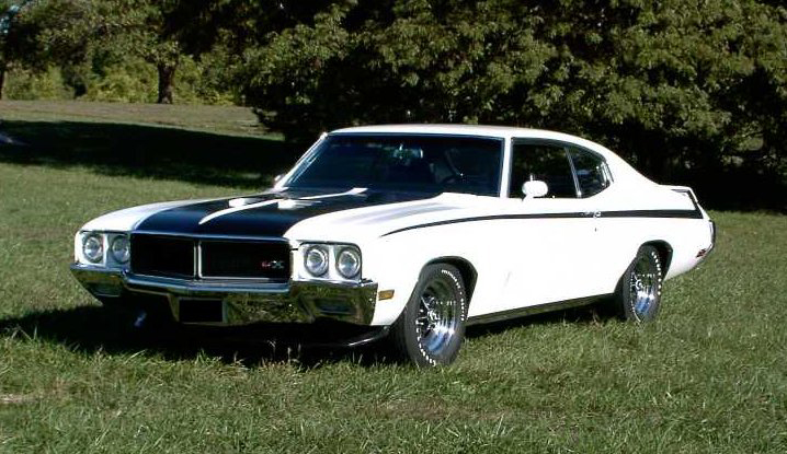 1970 BUICK GSX STAGE 1  HARDTOP - Front 3/4 - 81849