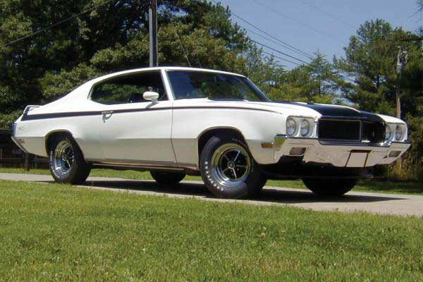 1970 BUICK GSX STAGE 1  HARDTOP - Side Profile - 81849