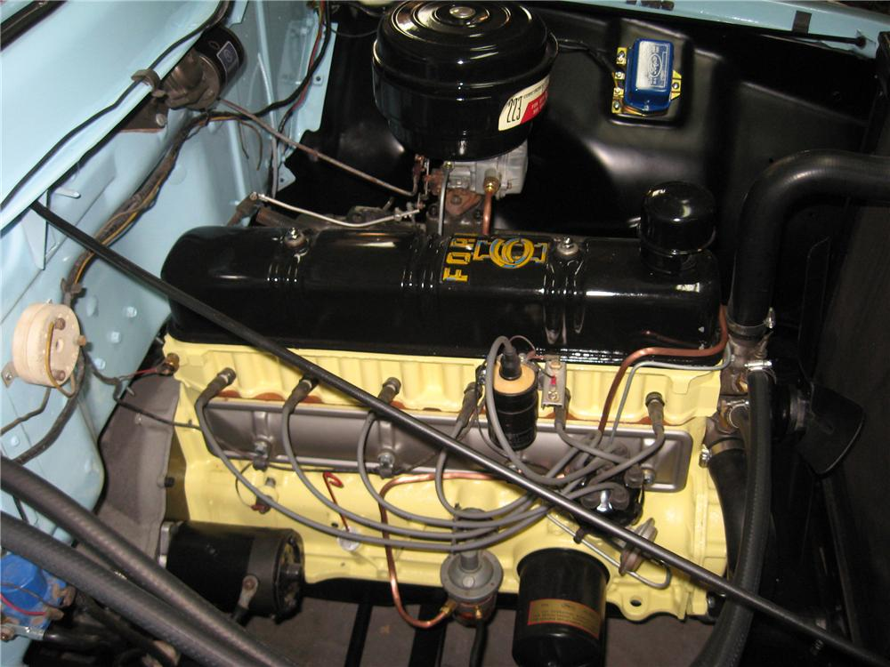 1956 FORD F-100 PICKUP - Engine - 81851