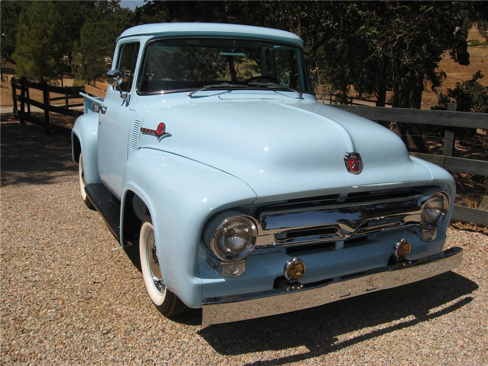 1956 FORD F-100 PICKUP - Front 3/4 - 81851
