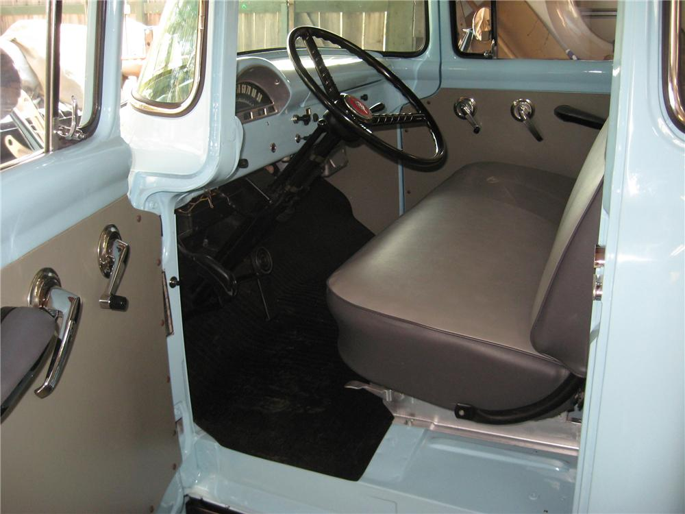1956 FORD F-100 PICKUP - Interior - 81851