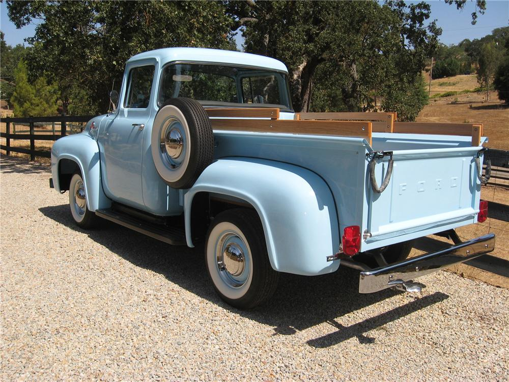 1956 FORD F-100 PICKUP - Rear 3/4 - 81851
